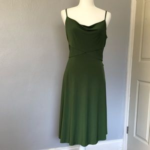 Donna Ricco New York Pine green dress size 6
